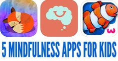 These 5 mindfulness apps include a range of exercises that help children develop self awareness and concentration. Mindfulness can help children to decrease anxiety, to calm down when upset and to learn to handle emotions less reactively. Mindfulness For Kids, Anxiety, Exercises, Calm, Handle, Apps, Classroom, Activities, Education