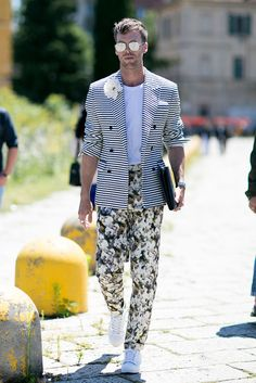See all the best street style looks from outside Milan Men's Fashion Week Spring 2017.