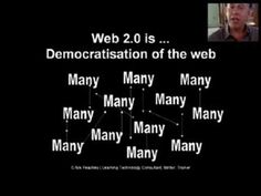 This is a recording of a presentation I prepared for teacher trainers in Morocco. It was an attempt to explain what Web2.0 was all about and give them some insight into how it was changing they way we use the web for education and EFL / ESL teaching.