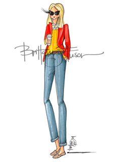 Brittany Fuson: Colorblock
