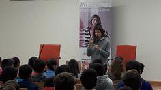 """Ana García Siñeriz en la Biblioteca """"Manuel Altolaguirre"""" (Cruz del Humilladero) 2016"""