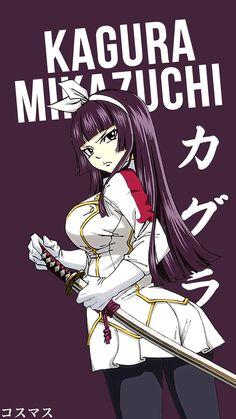 Kagura Mikazuchi ~ Korigengi | Wallpaper Anime