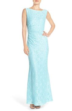 Ellen Tracy Lace Column Gown available at #Nordstrom