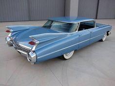 1959 Cadillac Sedan de Ville with a flat-top