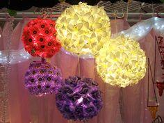 zappobz florais lanternas de papel