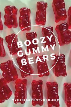 The Best Homemade Boozy Gummy Bears! Gummy bears with alcohol in them! The Best Homemade Boozy Gummy Bears! Gummy bears with alcohol in them! Making Gummy Bears, Homemade Gummy Bears, Homemade Gummies, Jello Gummy Bears, Alcohol Gummy Bears, Drunken Gummy Bears, Jello Shot Recipes, Alcohol Drink Recipes, Jello Shots