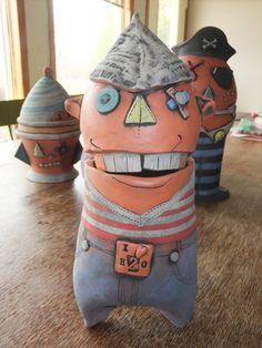 Pottery Jar  Water Boy .....I'm sailing