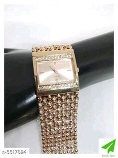 Watches Sana Beautiful Stainless Steel Women's Watch Strap Material: Stainless Steel Display Type: Analogue Size: Free Size Multipack: 1 Country of Origin: India Sizes Available: Free Size   Catalog Rating: ★4.2 (467)  Catalog Name: Classic Women Watches CatalogID_823900 C72-SC1087 Code: 752-5517024-945