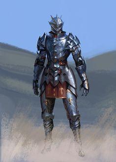 Fantasy Character Design, Character Design Inspiration, Character Concept, Character Art, Fantasy Armor, Medieval Fantasy, Dark Fantasy Art, Knight Drawing, Knight Art