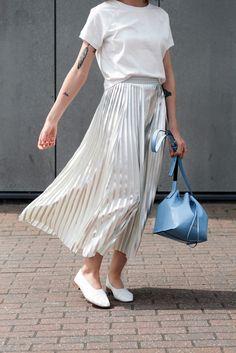 The Metallic Skirt