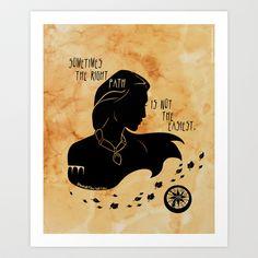 The Right Path Art Print by Jenell Konschak - $21.84