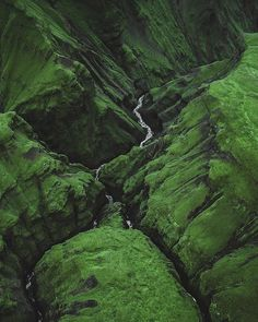 Green valleys of Iceland. A must see when you visi Oh The Places You'll Go, Places To Travel, Places To Visit, Green Valley, World Photography, Aerial Photography, All Nature, Iceland Travel, Belleza Natural