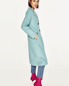 изображение 4 из ПАЛЬТО С ПУГОВИЦАМИ от Zara