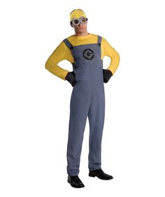Despicable Me Minions Dave Costume Set - Men's Regular by Despicable Me #zulily #zulilyfinds