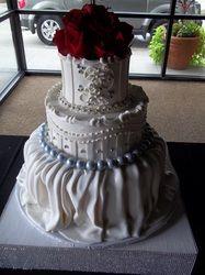 Three Tier Wedding Cakes - Omaha Cakes