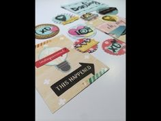 ▶ Making your own embellishments -Hip Kit Club March 2014 - YouTube