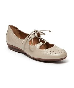 Look what I found on #zulily! Earth Granada Leather Flat by Comfort Maven #zulilyfinds