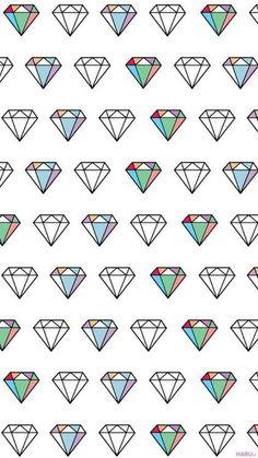 Imagen de diamond, wallpaper, and background