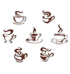 Cafe Clipart Black And White