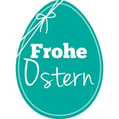 Aufkleber Frohe Ostern 14