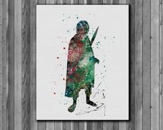 The Hobbit Frodo Baggins Poster The Lord of by digitalaquamarine