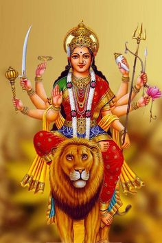 Receive Nine-Fold Blessings from Powerful Forms of Goddess Durga on Auspicious Ugadi Durga Maa Pictures, Maa Kali Images, Durga Images, Lord Shiva Hd Images, Lakshmi Images, Durga Picture, Maa Durga Photo, Maa Durga Image, Lord Durga