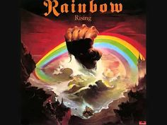 Most fedeztem fel. Nagyon jó........ Rainbow - Stargazer (with lyrics)
