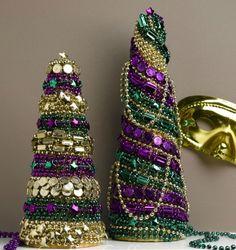 DIY Mardi Gras Decorations - Laissez les Bons Temps Rouler! - Craftfoxes