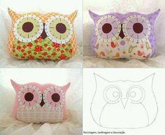 Creative DIY Pillow Ideas #craft #sewing #owl