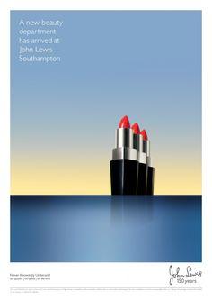 ランプシェードや口紅が大型船になってやってくる…英老舗百貨店の比喩表現が巧みな広告 | AdGang