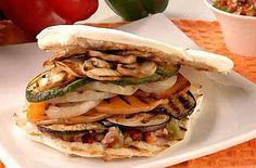Sandwich de Vegetales Grillados