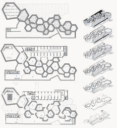 Concept Models Architecture, Architecture Model Making, Architecture Concept Diagram, Architecture Presentation Board, Architecture Drawings, Futuristic Architecture, Architecture Design, Pavilion Architecture, Architecture Diagrams