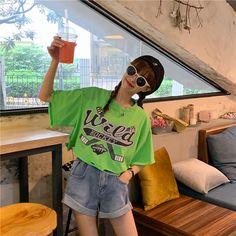 Shorts Jeans, Cute Korean Girl, Number 3, Ulzzang, Korean Fashion, Beanie, China, Princess, My Style