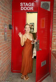5324c71cc3a89 Katie Piper looks elegant in plunging jumpsuit as she storms stage