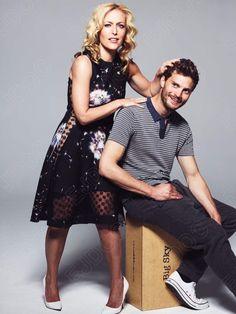 Jamie and Gillian...adorbs! #JamieDornan #GillianAnderson