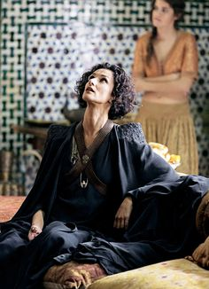Game of Thrones: Ellaria Sand in mourning, season 5