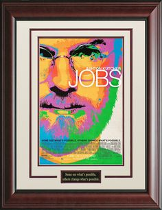 Jobs Framed Movie Poster   Official, Movie Poster, Posters
