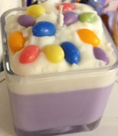 Jelly Bean Candle - just like opening a bag of Jelly Beans...