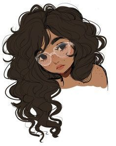 ideas art girl drawing inspiration artists for 2019 Art And Illustration, Illustration Pictures, Illustration Girl Glasses, People Illustration, Cartoon Kunst, Cartoon Art, Girl Cartoon, Black Cartoon, Cartoon Girl Drawing