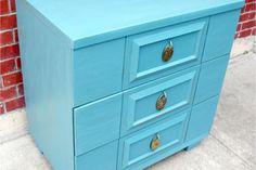 Vintage Mid Century 3 Drawer Dresser