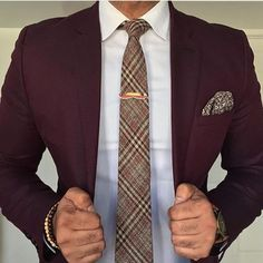 Everybody loves Suits Maroon Suit, Burgundy Suit, Dapper Gentleman, Gentleman Style, Sharp Dressed Man, Well Dressed, Suit Fashion, Fashion Sale, Fashion Outlet