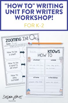 Looking for a new how to writer's workshop unit?! I love using this easy, step-by-step process to teach students to write procedural books. They get to show what they are experts in! Head over to see lessons, anchor charts, and more.