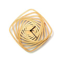 Torbellino reloj moderno de pared contemporánea hecha por ardeola