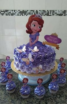Birthday Girl Cake Princess Sofia The First 61 Ideas For can find Princess sofia and more on our website.Birthday Girl Cake Princess Sofia The First 61 Ideas For 2019 Princess Sofia Cake, Princess Sofia Birthday, Princess Sofia The First, Sofia The First Birthday Cake, Birthday Cake Girls, 4th Birthday, Bolo Sofia, Sophia Cake, Birthday Party Snacks