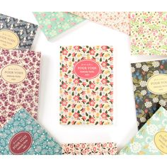Wanna This Pour vous melody lined notebook small