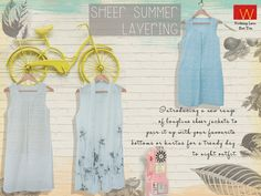 Ohh...summer we so love you Shop the layering essentials with us here http://www.wforwoman.com/products/ss15-latest-collection/summer15-topwear/
