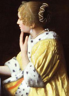 Details of Mistress and maid Johannes Vermeer Johannes Vermeer, Delft, Rembrandt, Caravaggio, Vermeer Paintings, Baroque Painting, Palette Art, Dutch Golden Age, Dutch Painters