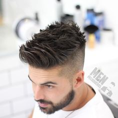 """""""Mi piace"""": 3,732, commenti: 18 - Men's hairstyles inspiration (@4hairpleasure) su Instagram: """"Follow 👉🏻 @menshair.jpg for more of the BEST 'n' AESTHETIC hairstyles on IG 💯✔!…"""""""