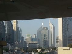 The city..