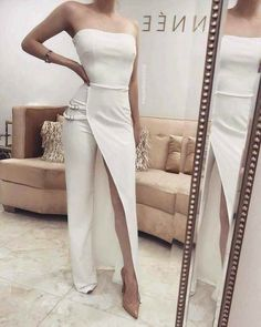 Outstanding women dresses are readily available on our internet site. Elegant Dresses, Sexy Dresses, Fashion Dresses, Prom Dresses, Wedding Dresses, Wedding Reception Outfit, White Fashion, Look Fashion, Fashion Design